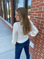 Open Knit Top