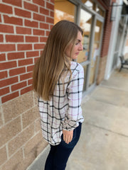 Plaid Criss Cross Flannel