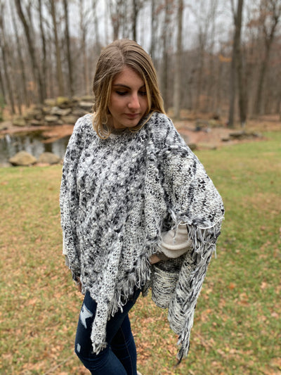 Dark Shadow Poncho