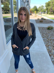 Dolman Sleeved Cardigan