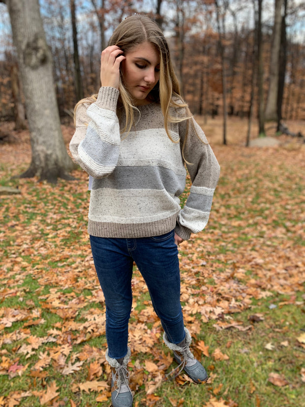 Layered Colors Sweater