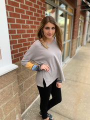 Colorblock Contrast Top