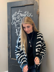 Zebra Soft Cardigan