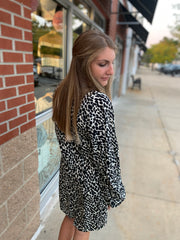 Animal Pocket Dress