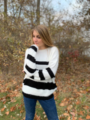 Eyelash Knit Sweater