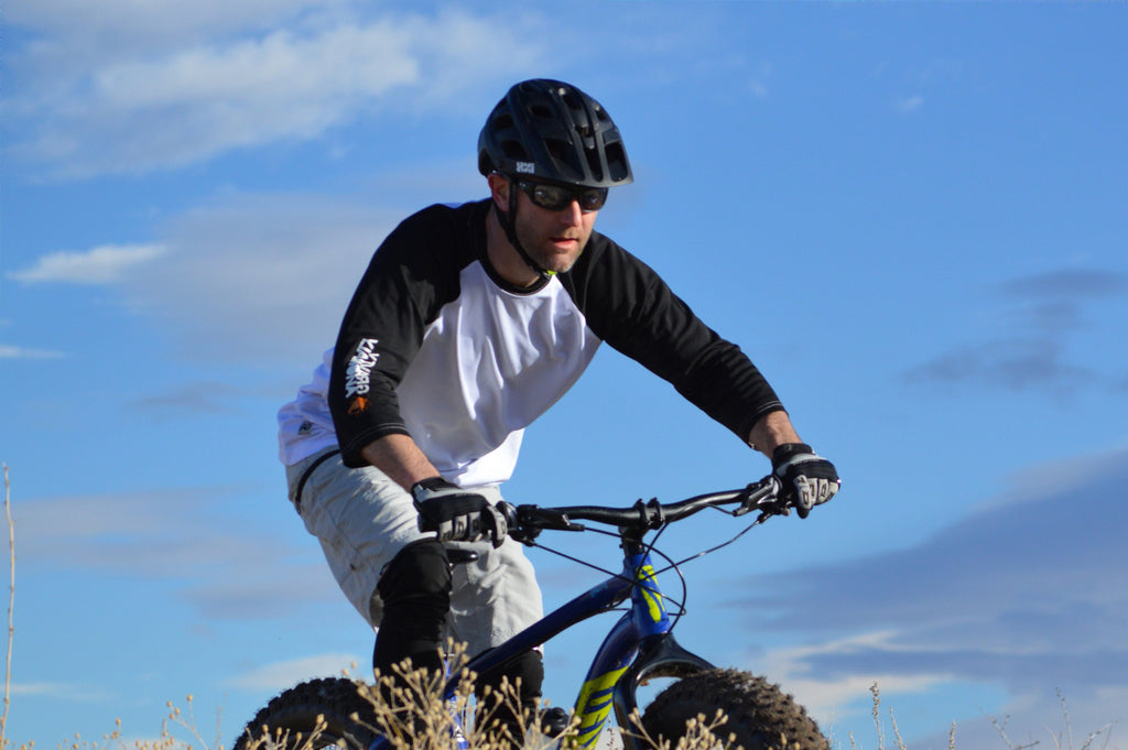Fat Bike Clothing Action Shots