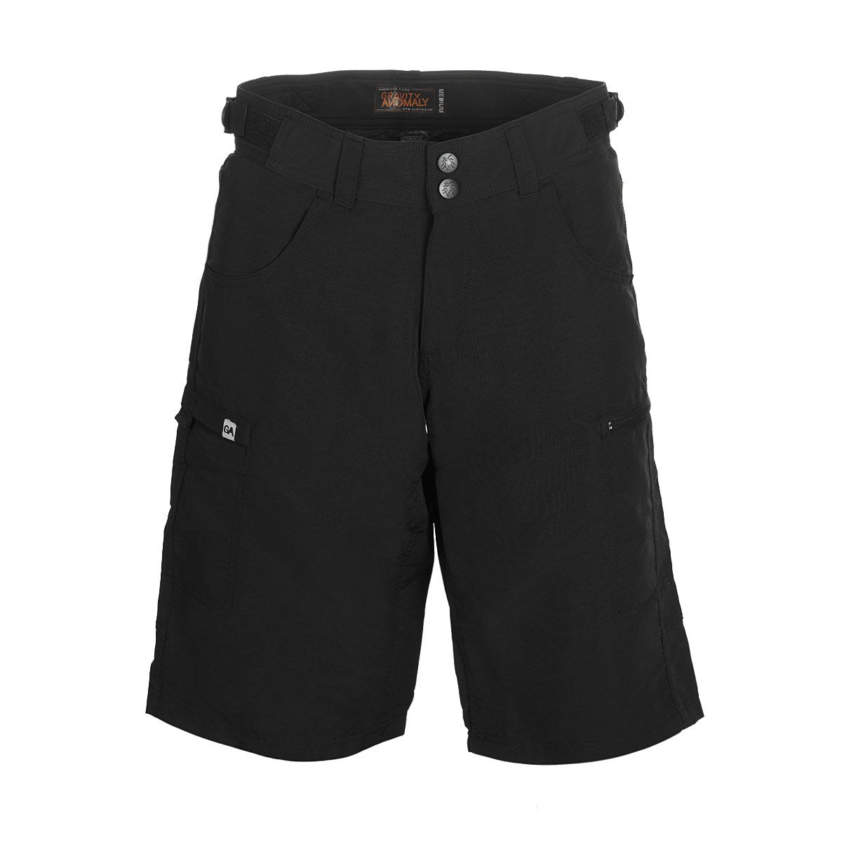 Disrupter Bike Shorts Black