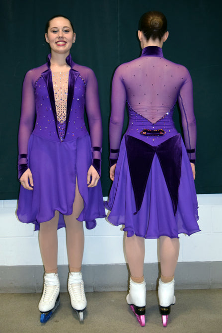 Purple Rain Dress