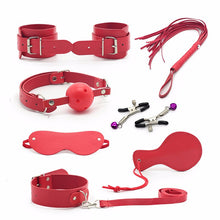 DOM BDSM Adult Hot Games  Erotic Toys Leather Sexy toys Bondage Restraint 7piece/Set