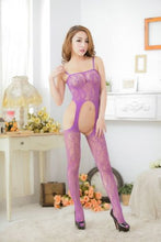 Very Hot  and Sexy  Lingerie -  Body Stocking Underwear  Open Crotch