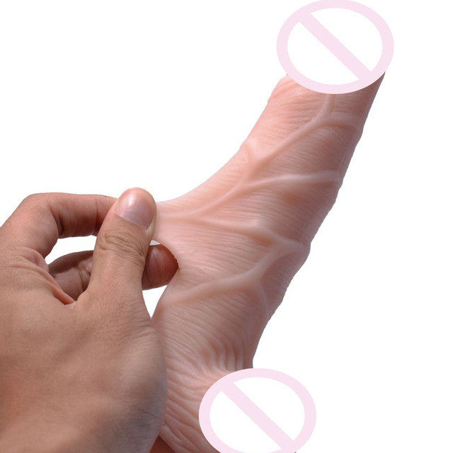 Realistic & Flexible Penis - Dick with Strong Suction Cup  Sex Toys for Woman Fake Dicks - Dildo -Adult Sex Products