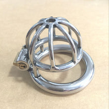 Newest Stealth Lock Stainless Steel -Male Chastity Device Super Small Cock Cage Penis* ! Virginity lock Cock Ring Chastity Belt !