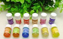 !!! Welove !!  Water Soluble Essential Oil - Aromatherapy Oils Body Care Massage SPA Fragrances-  3ml*36 Bottles of Colored Oils