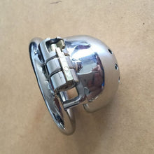 Lock Male Stainless Steel Chastity Device ! Super Small Cock Cage ! Penis Virginity Lock Cock !