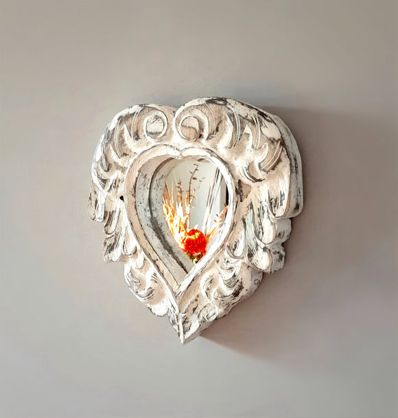 Cottage Heart Mirror For Wall - The Welcome Sign