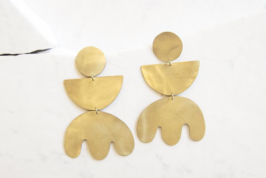The Line of Sun - Matisse Earrings