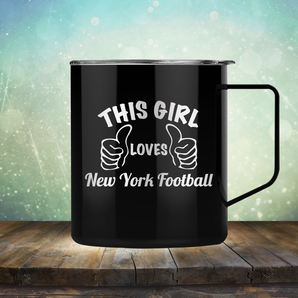 This Girl Loves New York Football
