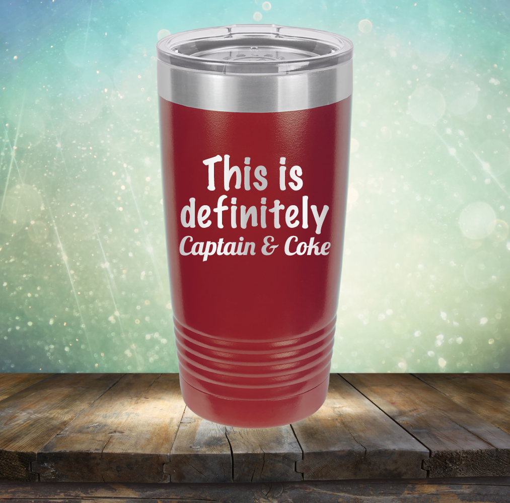 This is Definitely Captain & Coke