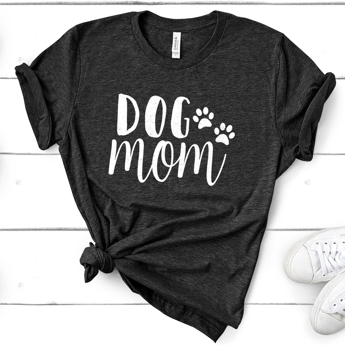 Dog Mom - Short Sleeve Tee Shirt