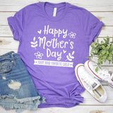 Happy Mother's Day From Your Favorite Child - Short Sleeve Tee Shirt