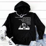 Nobody Wishes Happy Birthday Better Than Me TRUMP - Hoodie Sweatshirt
