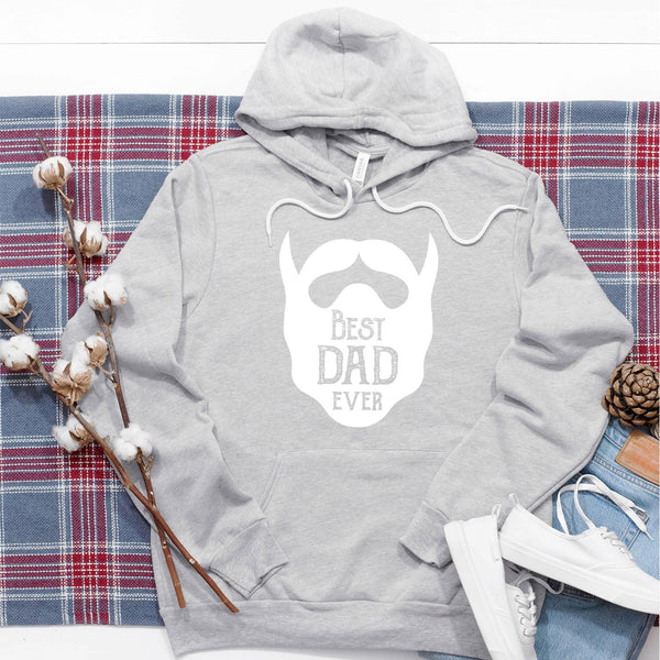 Best Dad Ever Beard - Hoodie Sweatshirt