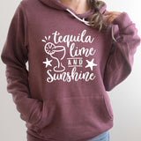 Tequila Lime and Sunshine - Hoodie Sweatshirt