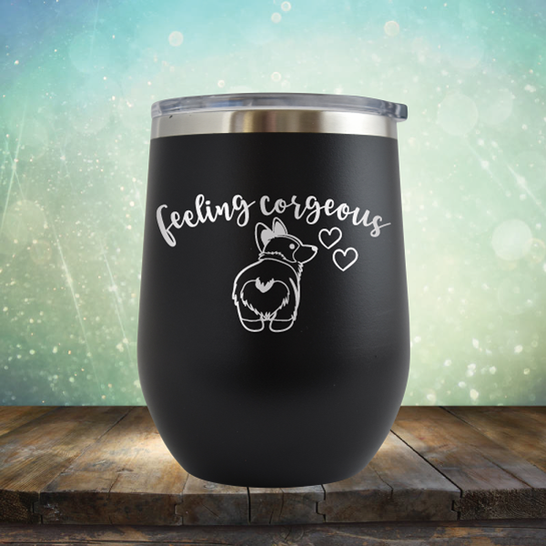 Feeling Coregous - Stemless Wine Cup