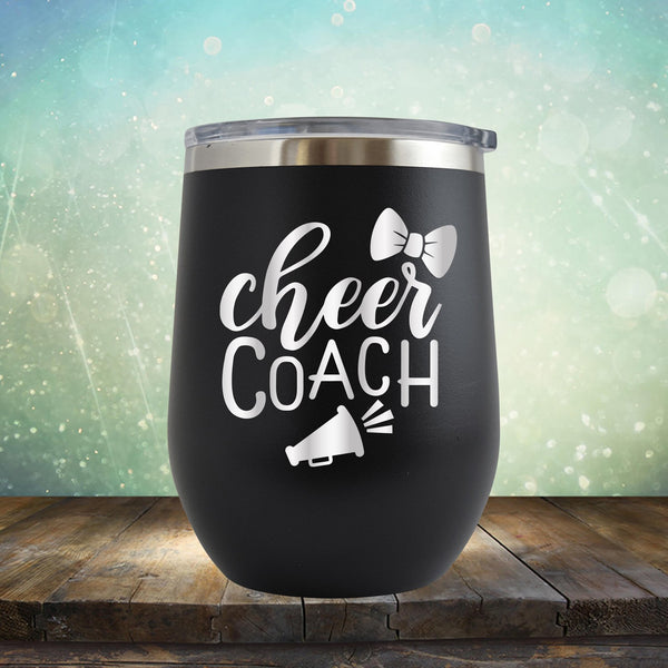 Cheer Coach - Stemless Wine Cup