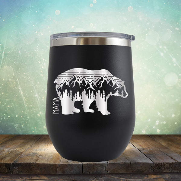 Mama Bear Adventure - Stemless Wine Cup