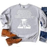 TRUMP Nobody is Better At Graduation Than You - Long Sleeve Heavy Crewneck Sweatshirt