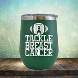Tackle Breast Cancer - Wine Tumbler