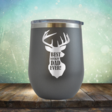 Best Buckin' Dad Ever - Stemless Wine Cup