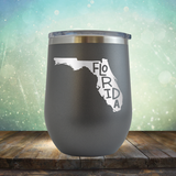 Florida Outline - Stemless Wine Cup