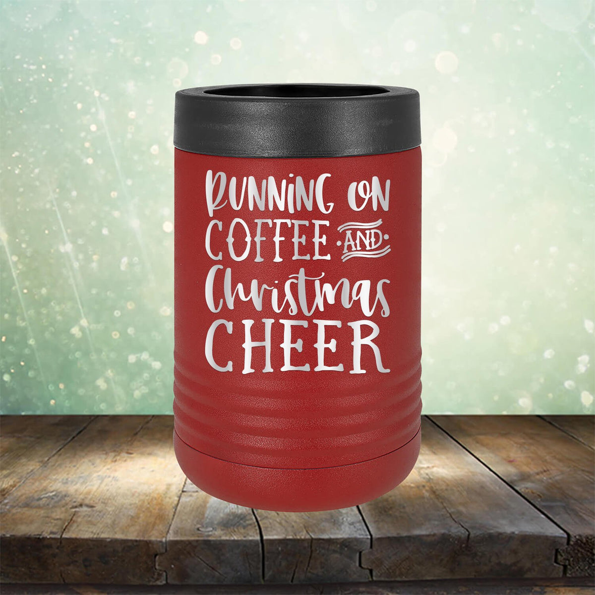 Running on Coffee and Christmas Cheer
