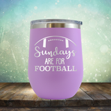 Sundays Are For Football - Stemless Wine Cup