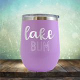 Lake Bum - Stemless Wine Cup