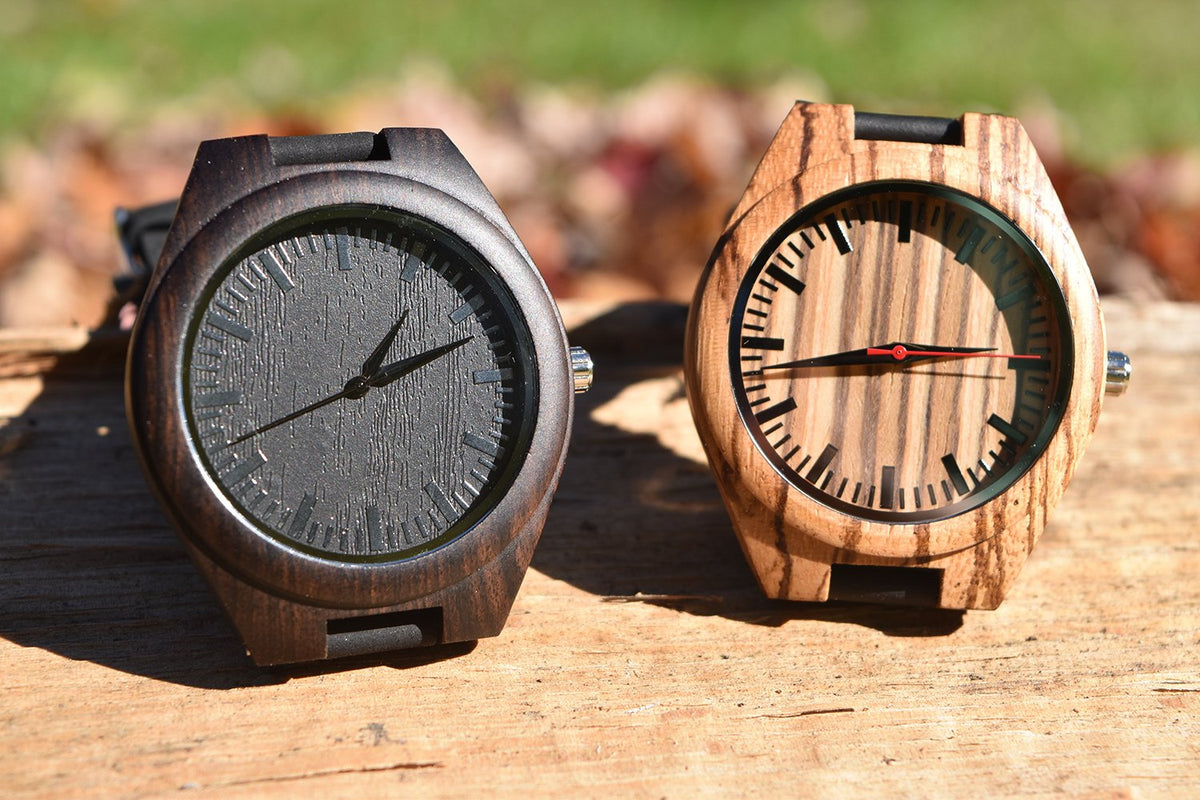 To My Husband - I Love You in the Morning and in the Afternoon - Wooden Watch