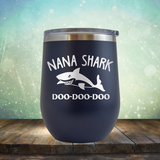 Nana Shark - Stemless Wine Cup