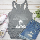 TRUMP Nobody is Better At Graduation Than You - Tank Top Racerback