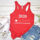 2020 Would Not Recommend - Tank Top Racerback