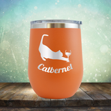 Catbernet - Stemless Wine Cup