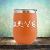 Firefighter Love - Stemless Wine Cup