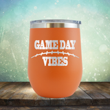 Game Day Vibes Football - Stemless Wine Cup