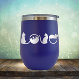 Cat Love - Stemless Wine Cup