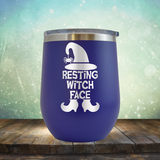 Resting Witch Face - Stemless Wine Cup