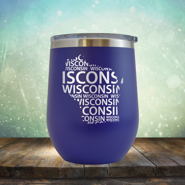 Wisconsin Repeat - Stemless Wine Cup