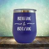 Boating & Boozing - Stemless Wine Cup