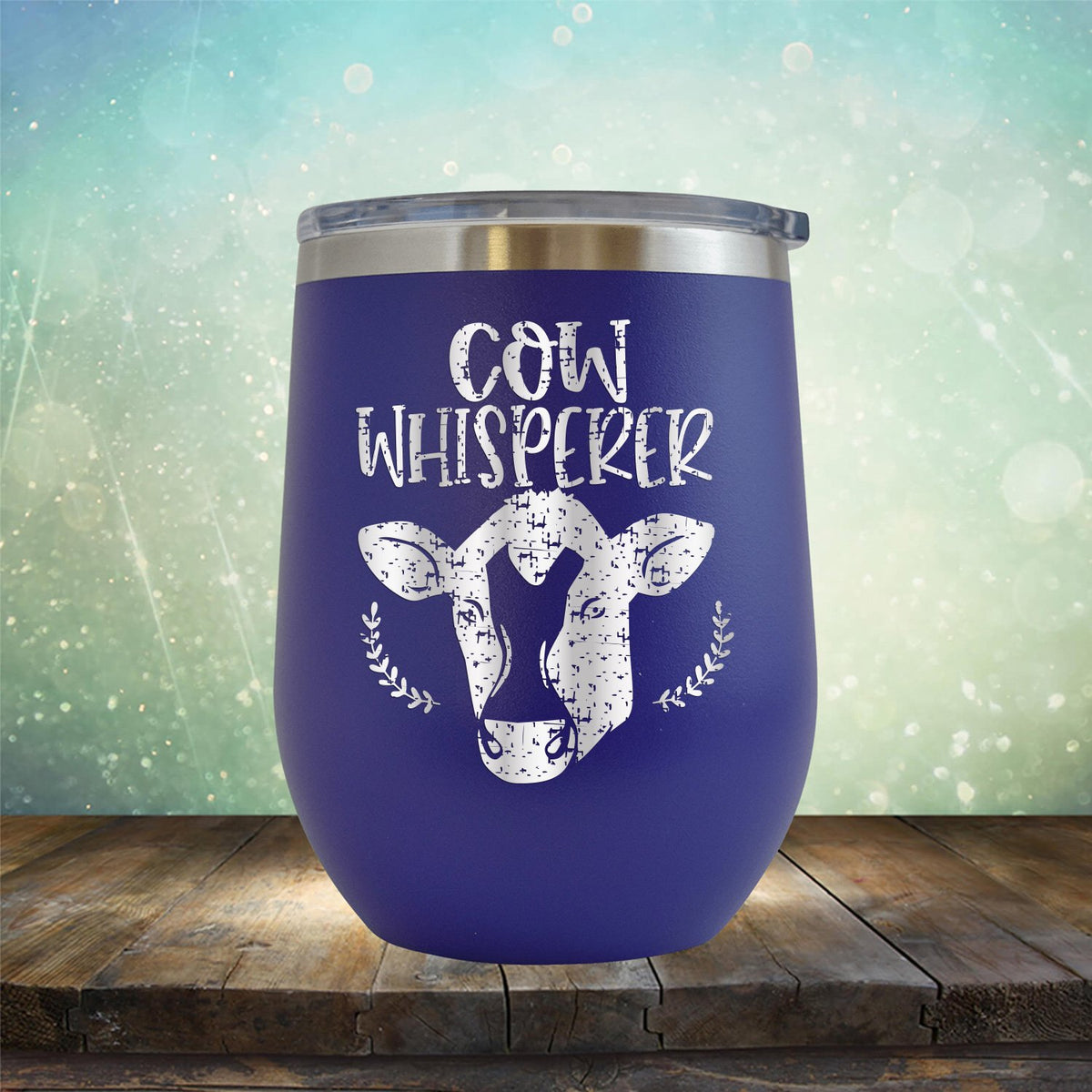 Cow Whisperer - Wine Tumbler