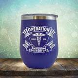 Operation Covid-19 2020 Enduring Clusterfuck - Stemless Wine Cup